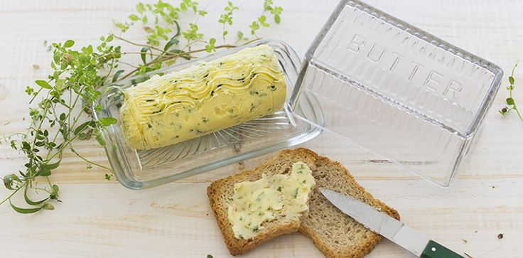 Mantequilla con hierbas aromáticas