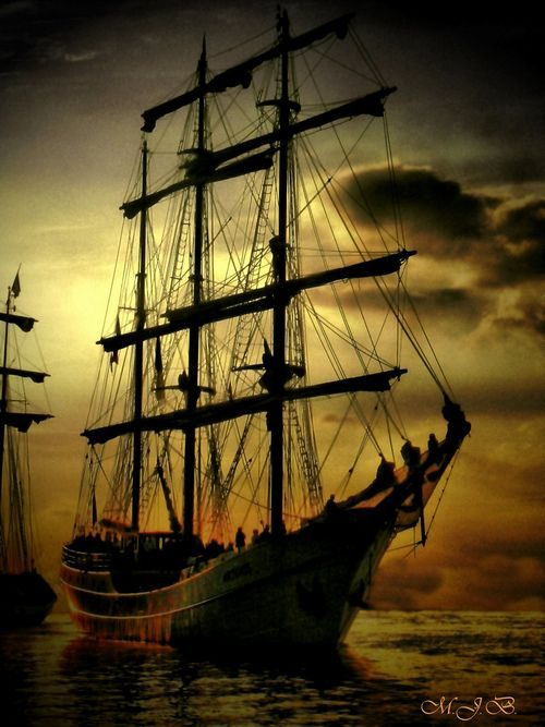 Inspiration for Dair's ship in BEAUTY AND THE HIGHLAND BEAST by Lecia Cornwall, June 2016