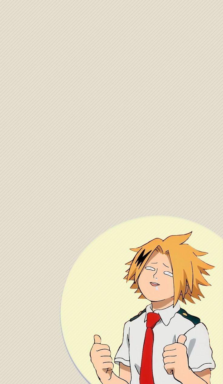 Boku No Hero Academia Kaminari Denki Hero Wallpaper My Hero Academia Episodes Hero