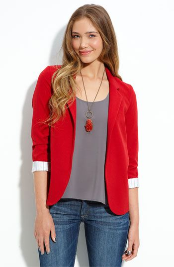 Best 20  Red blazer ideas on Pinterest—no signup required | Red ...