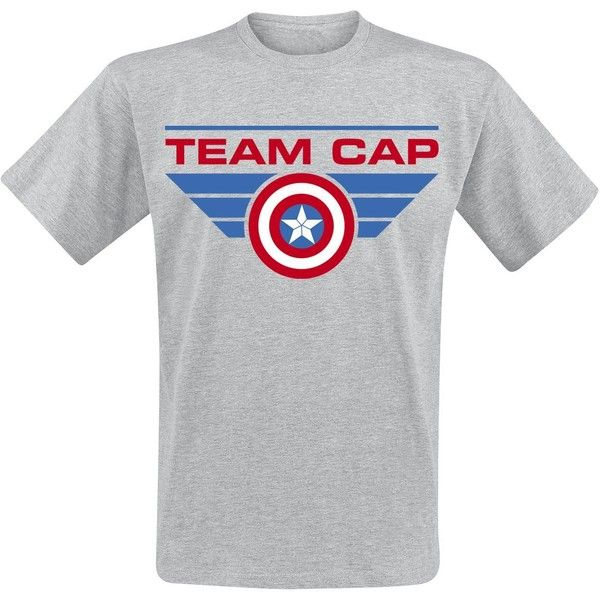 Captain America Civil War T-Shirt ($25) ❤ liked on Polyvore featuring tops and t-shirts