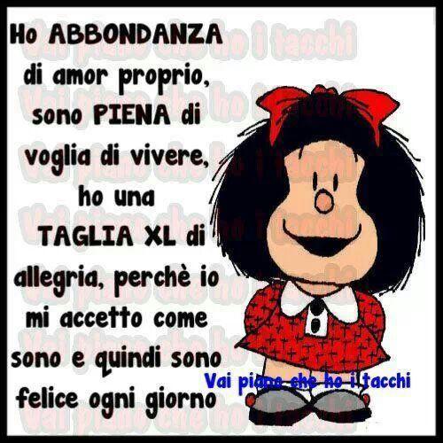 Mafalda..sei l'unica!