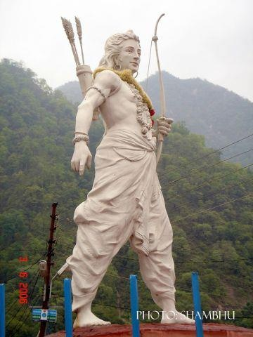 STATUE OF LORD RAM AT RISHIKESH