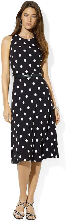 Lauren Ralph Lauren Marigold Sleeveless Dress