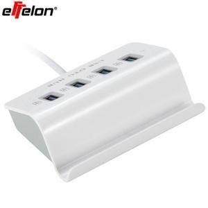 2 en 1 câble adaptateurUSB OTG , hub USB Micro Adapter Extension OTG pour Smartphone et tablette avec fonction OTG ,4 ports USB 2.0