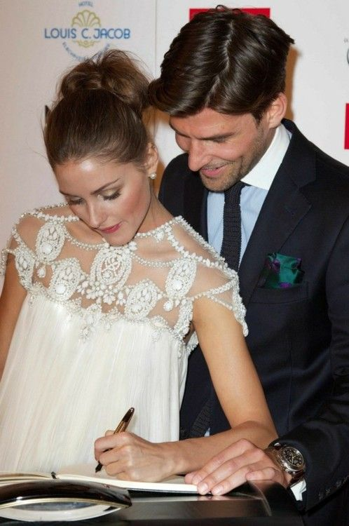 Olivia Palermo at the Couple Of The Year Event in Hamburg – wearing Marchesa