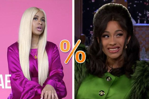 What Percent Cardi B Are You? | Axyria | Curly hair styles, Wig