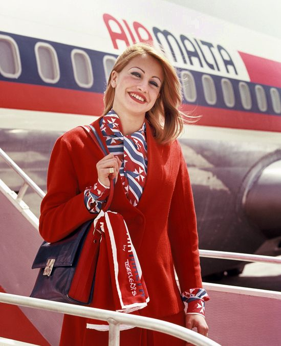 Air Malta's first moments in the 1970s