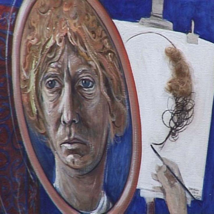 A Brett Whiteley self portrait