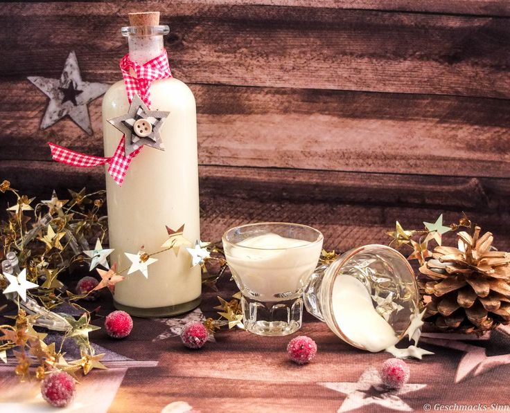 Weißer Schokoladenlikör mit Vanillearoma