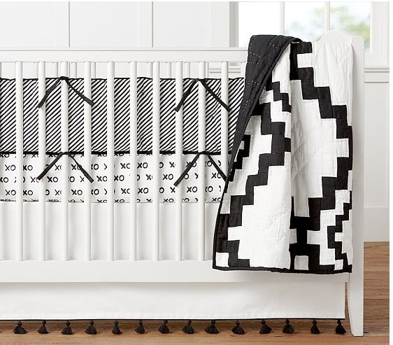 Elements of Style Blog | Black and White Nursery Insanity. | http://www.elementsofstyleblog.com