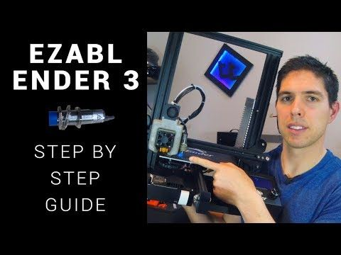 11) How to: Ender 3 EZABL auto bed levelling - YouTube | 3D printing