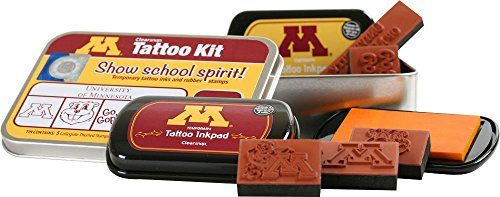 Clearsnap Color Box University of Minnesota Tattoo Kit - http://tattookits.co/clearsnap-color-box-university-of-minnesota-tattoo-kit/