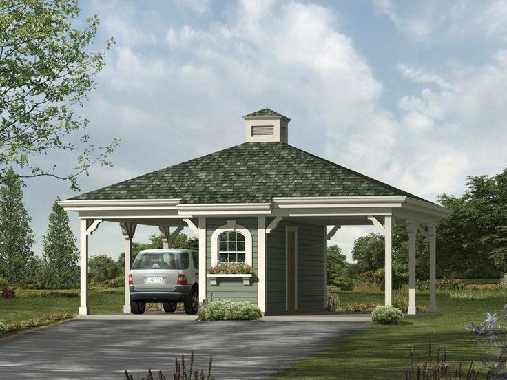 Best 25 carport designs ideas on pinterest carport for Hip roof garage plans