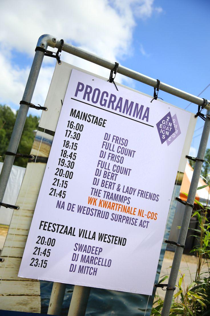 Programma 2Generations beach edition @ Villa Westend