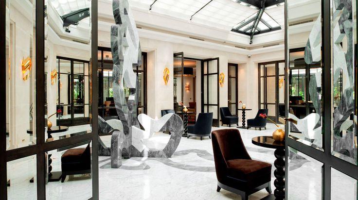 Hotel Le Burgundy Paris in Paris | Splendia - http://pinterest.com/splendia/