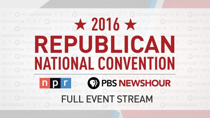 https://www.youtube.com/watch?v=1x5axmyoinM - Watch the Full 2016 Republican National Convention - Day 1