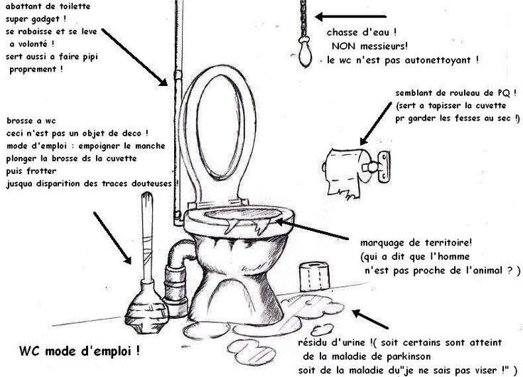 Les 25 meilleures id es de la cat gorie blagues propres sur pinterest bonne - Comment enlever le tartre dans les wc ...