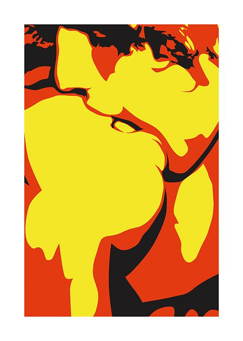 #Poster #Kunstdruck Fine #Art #Print Chao Zhang LOVE Twenty Four Gallery #illustration #twentyfourgallery #artprint