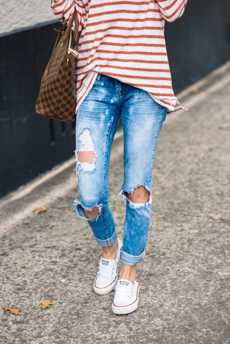 Casual outfits with jeans and sneaker (25)