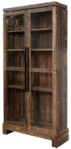 verge cabinet with glass doorsInterior Decorating, Decor Things, Rustic Chic, Otra Epoca, Verge Cabinets, Glasses Doors, Furniture Ideas, Funiture Collection, Interiors Decor