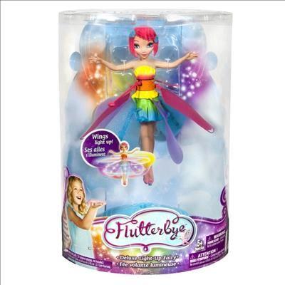Fée volante lumineuse Arc-en-ciel de Flying Fairy Réf : 6023923 moins cher en ligne. Age : 5 ans ,  Sexe : Fille  Comparez son prix chez 5 vendeurs en ligne .