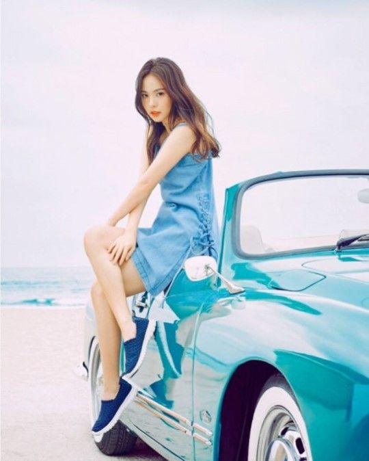 '해변의 인어공주' 민효린, 비주얼 여신[화보] :: 네이버 TV연예
