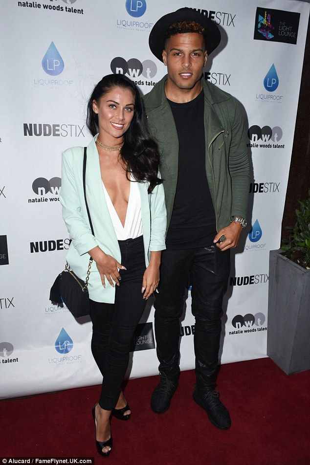 Power couple: On Thursday Cally Jane Beech and Luis Morrison proved they were still going ...