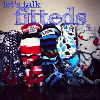 #clothdiapers: fitteds and hybrid fitteds