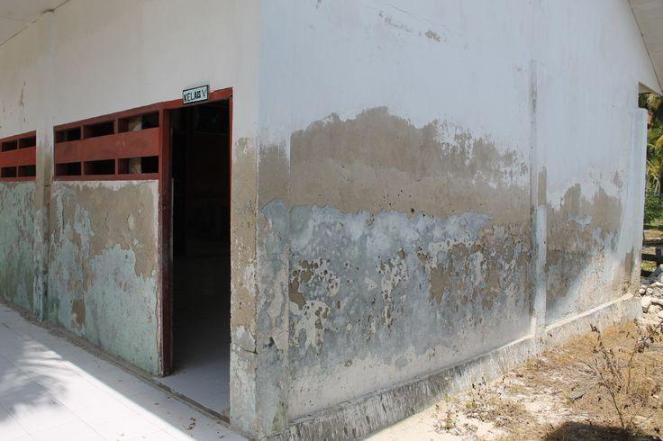 Kondisi bangunan SDI Timoro, Kecamatan Takabonerate