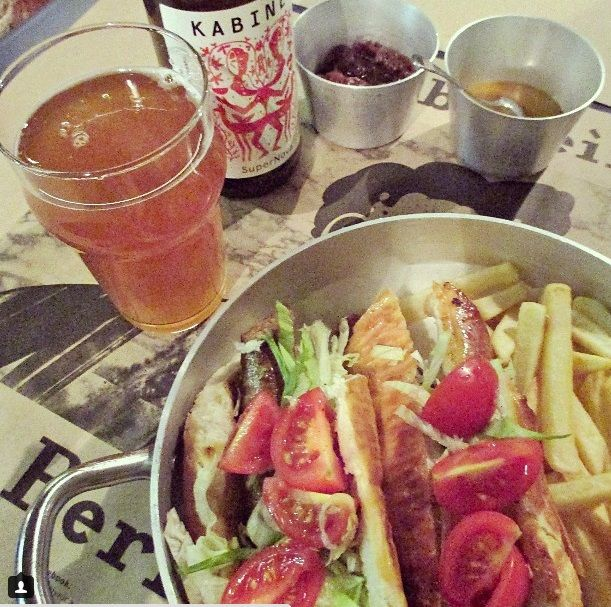 Berliner - A great choice if you are a fan of craft beer, sausages and underground atmosphere.