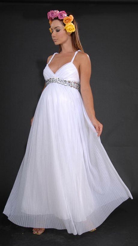 Vestidos de novia embarazada para matrimonio civil