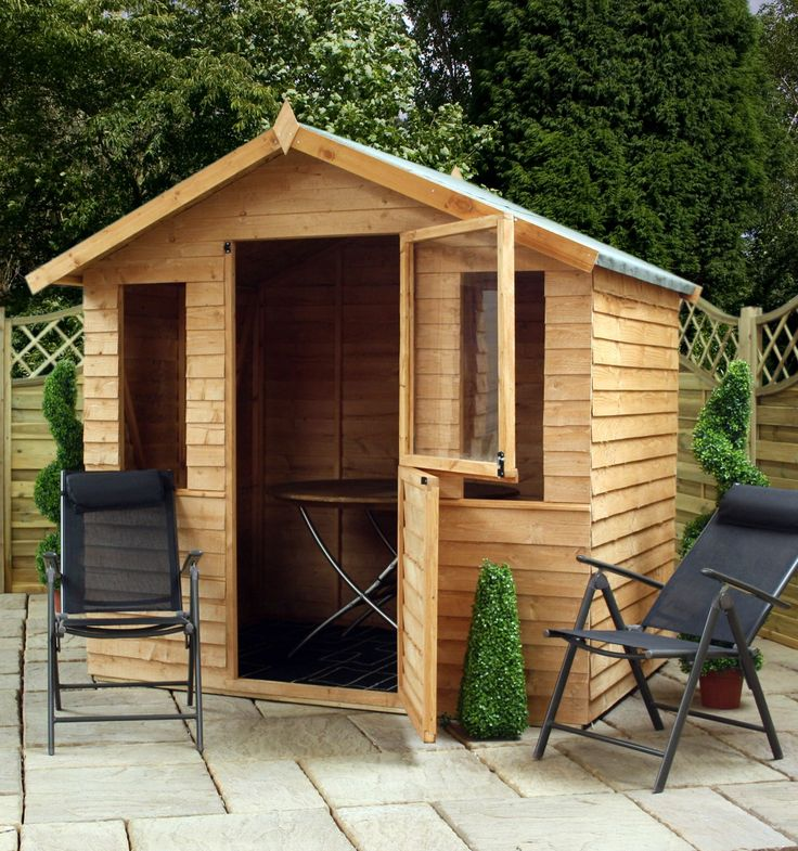 free and fast delivery to most areas of the uk simple yet effective and attractive overlap wall construction features a - Garden Sheds Quick Delivery