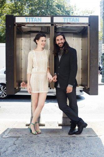City Hall couple.