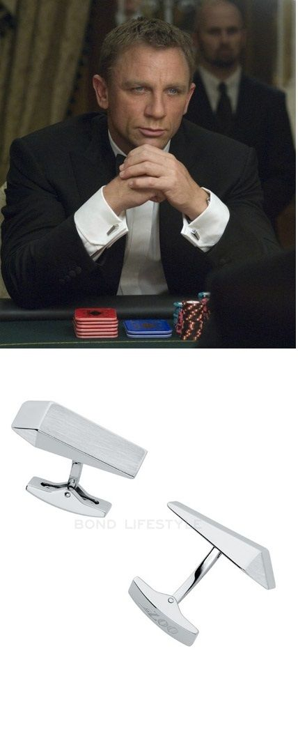 Mr. Bond, I presume. Find out where to buy these cufflinks and 35 other great jewelry gifts for men in Karus Chains detailed article.