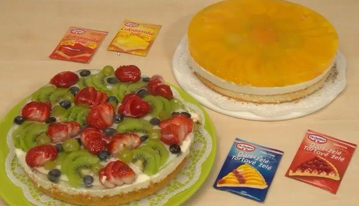 Ovocná torta so želé