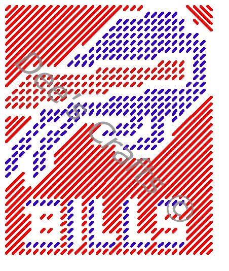 BUFFALO BILLS - TISSUE BOX COVER