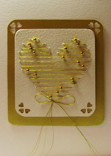 homemade christmas cards + wedding cards ~ Craft , handmade blog