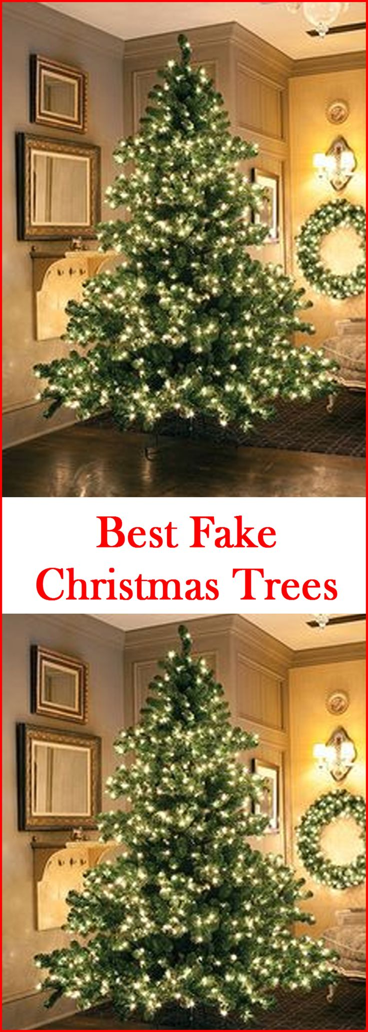 best fake christmas trees that look real - Large Artificial Christmas Trees