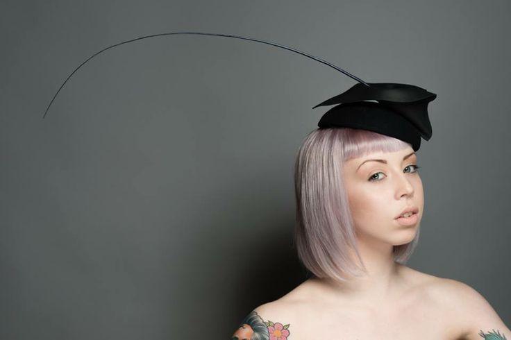 Hat by Robyn Coles Millinery. Makeup by Me.  #makeup #hair #hat #millinery #FarhanaHennaMUA www.farhana.co.uk