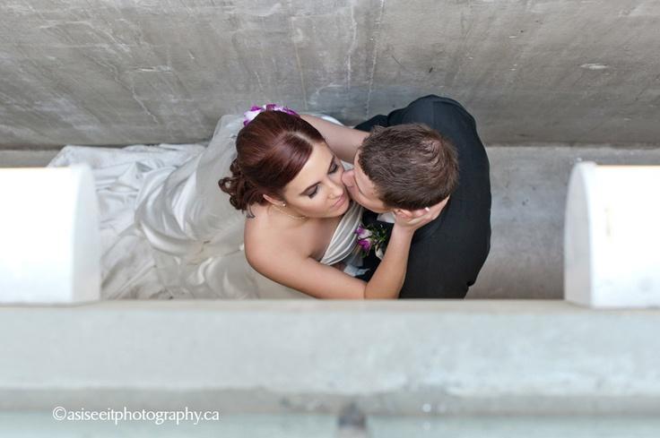 Robert + Stephanie…the wedding | Calgary Wedding Photographer #bride #kiss #urbanbride