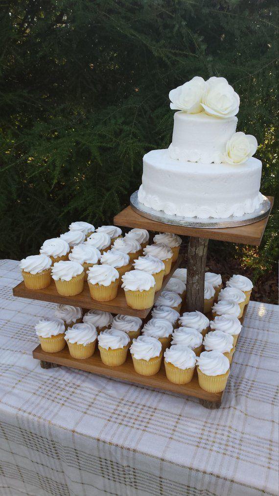 Rustic Cupcake Stand Rustic Cake Stand Rustic Wedding Log Cupcake Stand Wood Cupcake Stand Dessert Stand 3 Tier Stand Tree Cake Stand Rustic Cake Stands Rustic Cupcakes Wood Cupcake Stand