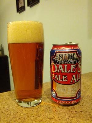 Beer Review: Oskar Blues Dale's Pale Ale