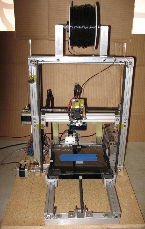Make a DIY 3D Printer From Old Inkjet Printer Parts 3D