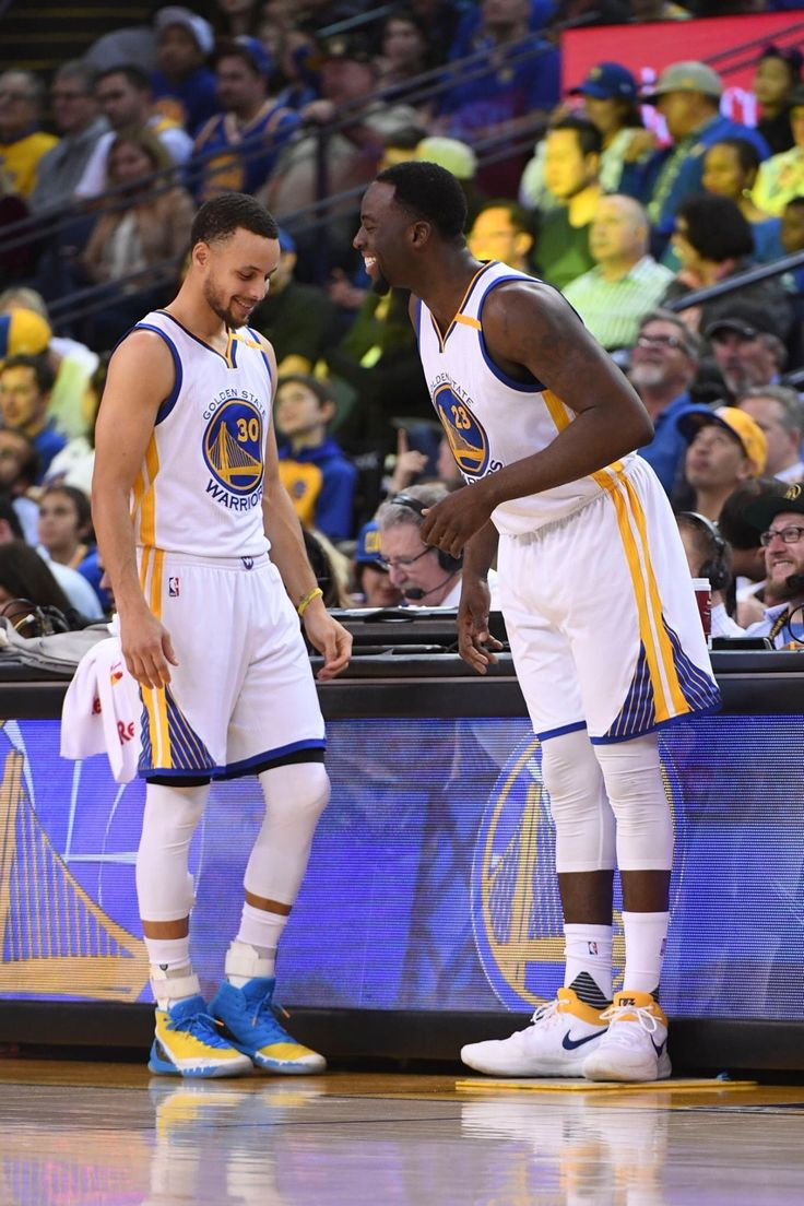 Steph Curry and Draymond Green