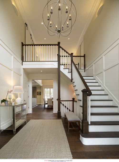 Knight Architects Princeton Nj Don Pe Photographers Entryway Chandelieryway Lightingchandelier