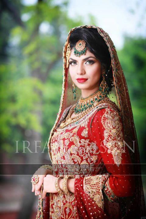 Pakistani bride... #irfanAhsonShoot pinned by #sidraYounas