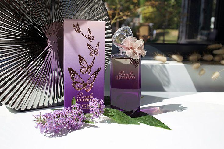 Purple Butterfly Hanae Mori