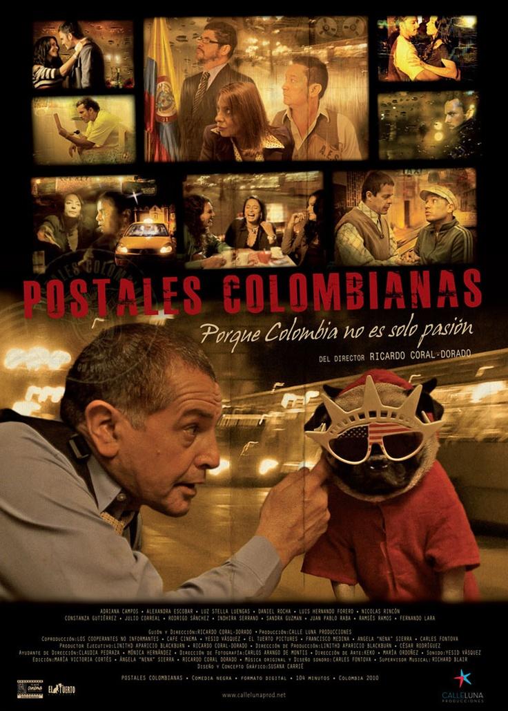 Postales colombianas, una película de la Semana del Cine Colombiano: http://www.mincultura.gov.co/semanadelcine/