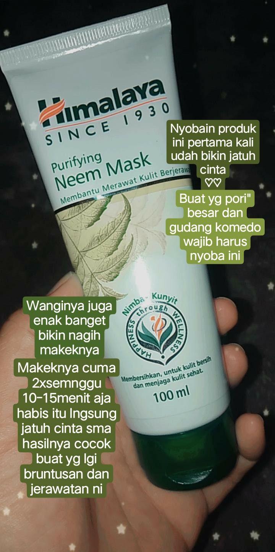 Review Masker Himalaya Neem Mask Untuk Jerawat